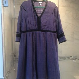 Perfect Fall Maternity Dress Size L